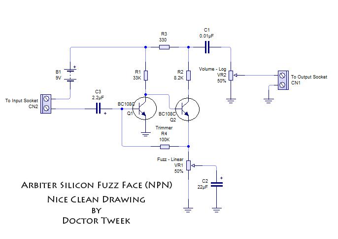 the arbiter silicon fuzz face  doctor tweek's blog