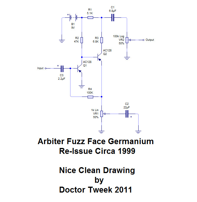 arbiter fuzz face – germanium reissue  doctor tweek's blog