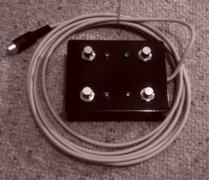Custom Built Marshall Footswitch made by Sleping Dog FX @ Doctor Tweek