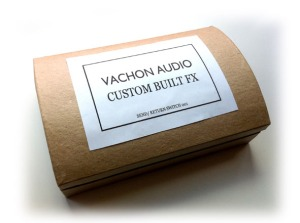 Vachon Audio Pedal in presentation case